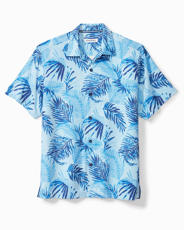 Main Image for Big & Tall Adriatic Fronds IslandZone® Camp Shirt