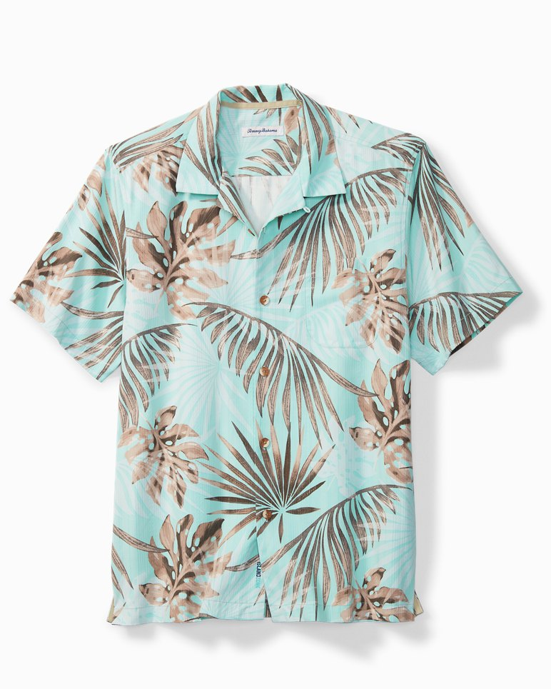 Main Image for Big & Tall Portofino Palms IslandZone® Camp Shirt
