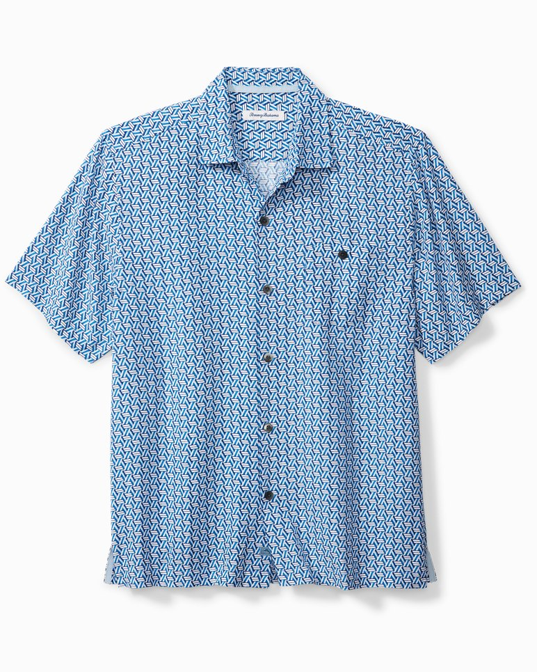 Main Image for Big & Tall Marciano Tiles Camp Shirt