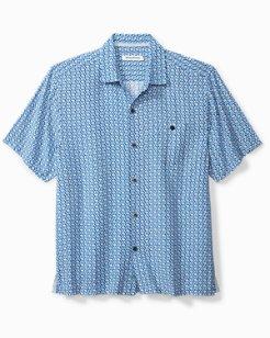 Big & Tall Marciano Tiles Camp Shirt