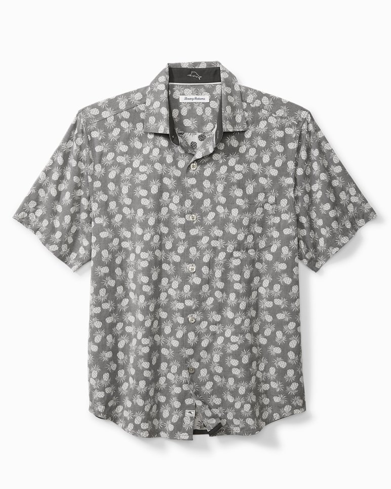 Main Image for Big & Tall Positano Pineapples Camp Shirt