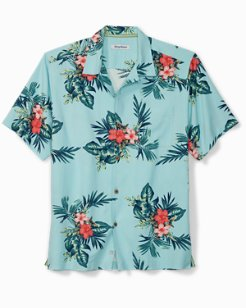 Big & Tall Capri Coast Camp Shirt