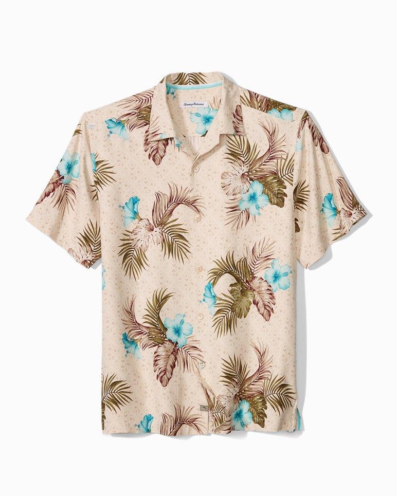 Main Image for Big & Tall Flora Breeze Way Camp Shirt