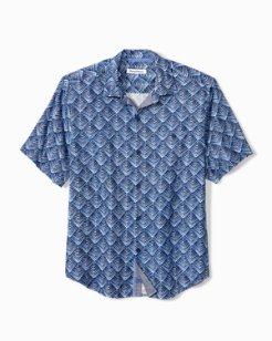 Big & Tall Agave Tiles Camp Shirt