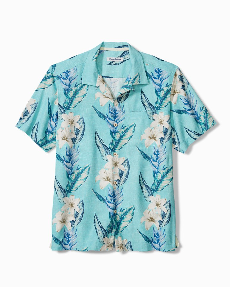 Main Image for Big & Tall Palmdale Vines IslandZone® Camp Shirt