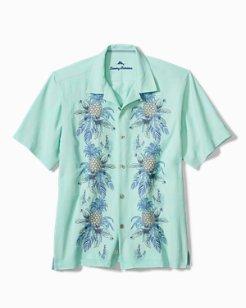 Big & Tall Pineapple Row Camp Shirt