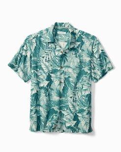 Big & Tall Shadow Toucan Camp Shirt
