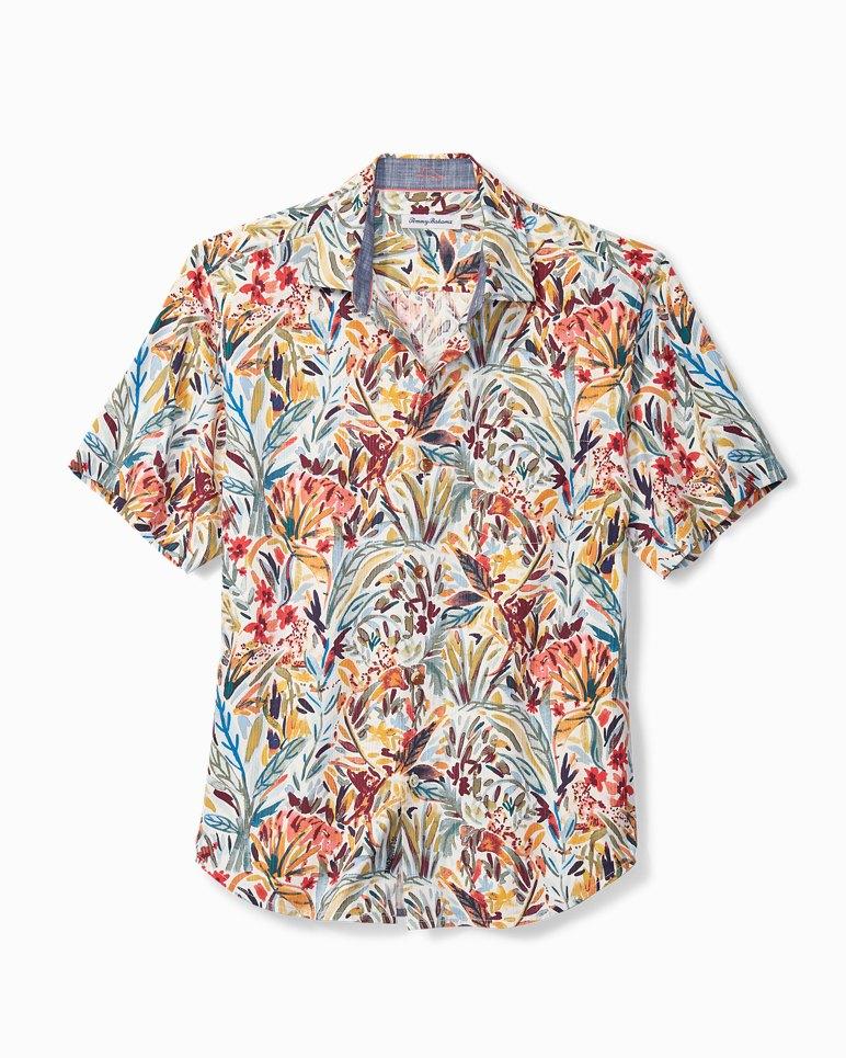 Main Image for Big & Tall Bongo Palms IslandZone® Camp Shirt