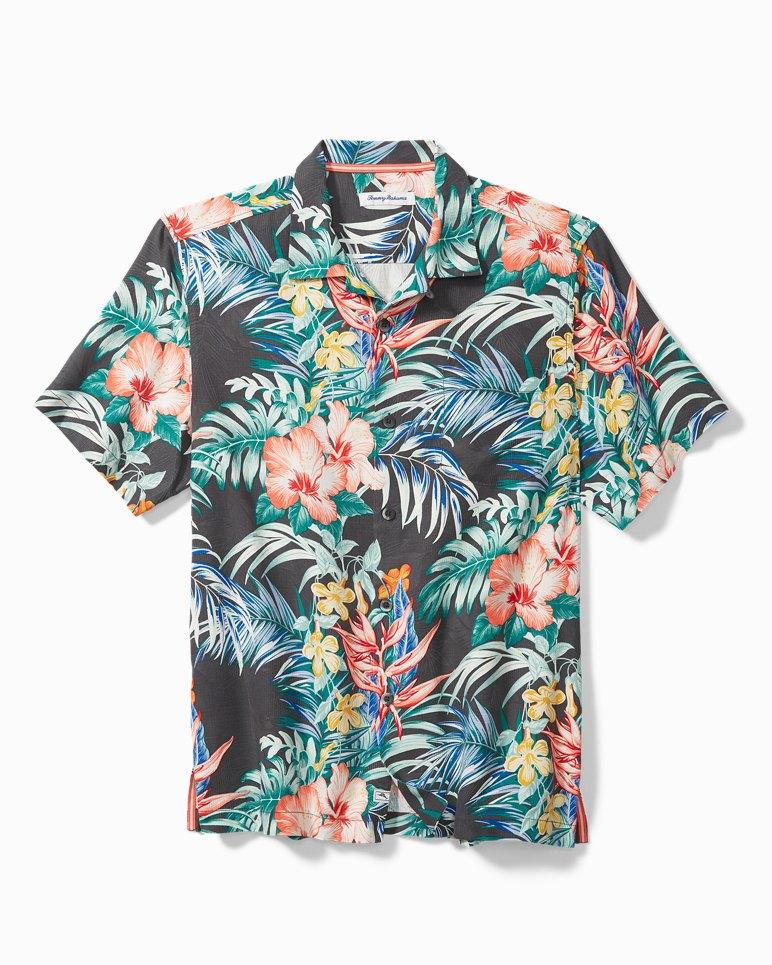Main Image for Big & Tall Garden Paradise Camp Shirt