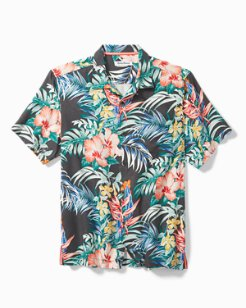 Big & Tall Garden Paradise Camp Shirt