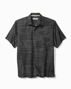 Big & Tall Geo Dashing Camp Shirt