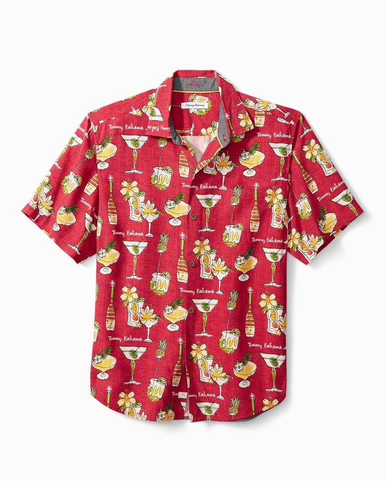 Main Image for Big & Tall Merry Martini Camp Shirt
