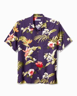 Big & Tall Mesquite Blooms Camp Shirt