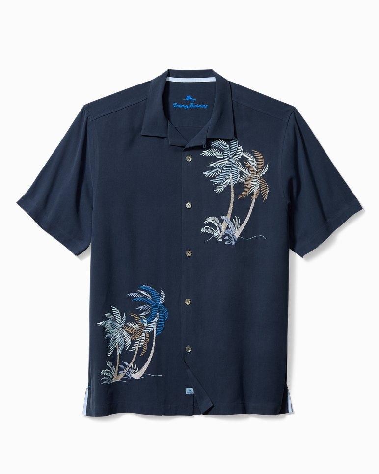 Main Image for Big & Tall Breezy Palms Camp Shirt