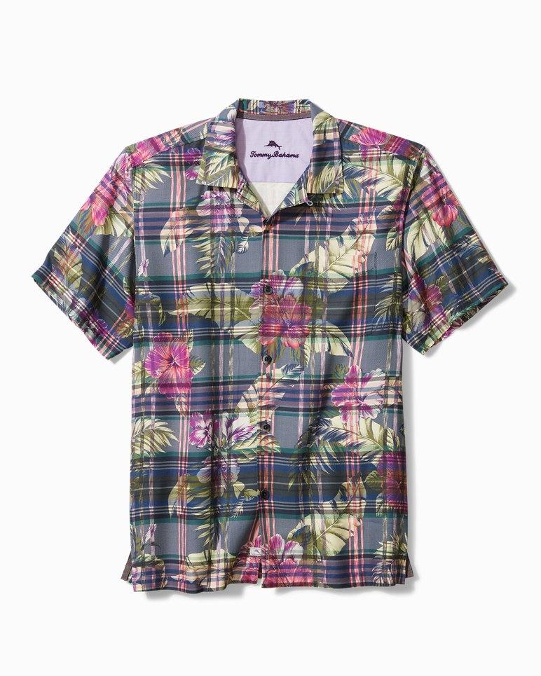 Main Image for Big & Tall Huladays Plaid Camp Shirt