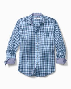 Big & Tall Newport Coast Pania Gingham Shirt