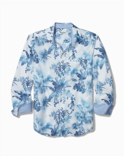 Big & Tall Newport Coast Tiare Tropical Shirt