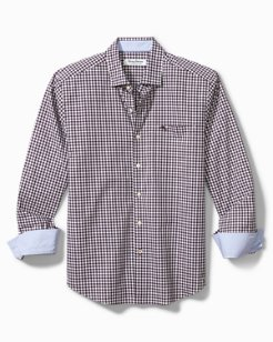 Big & Tall Newport Grazie Gingham IslandZone® Shirt