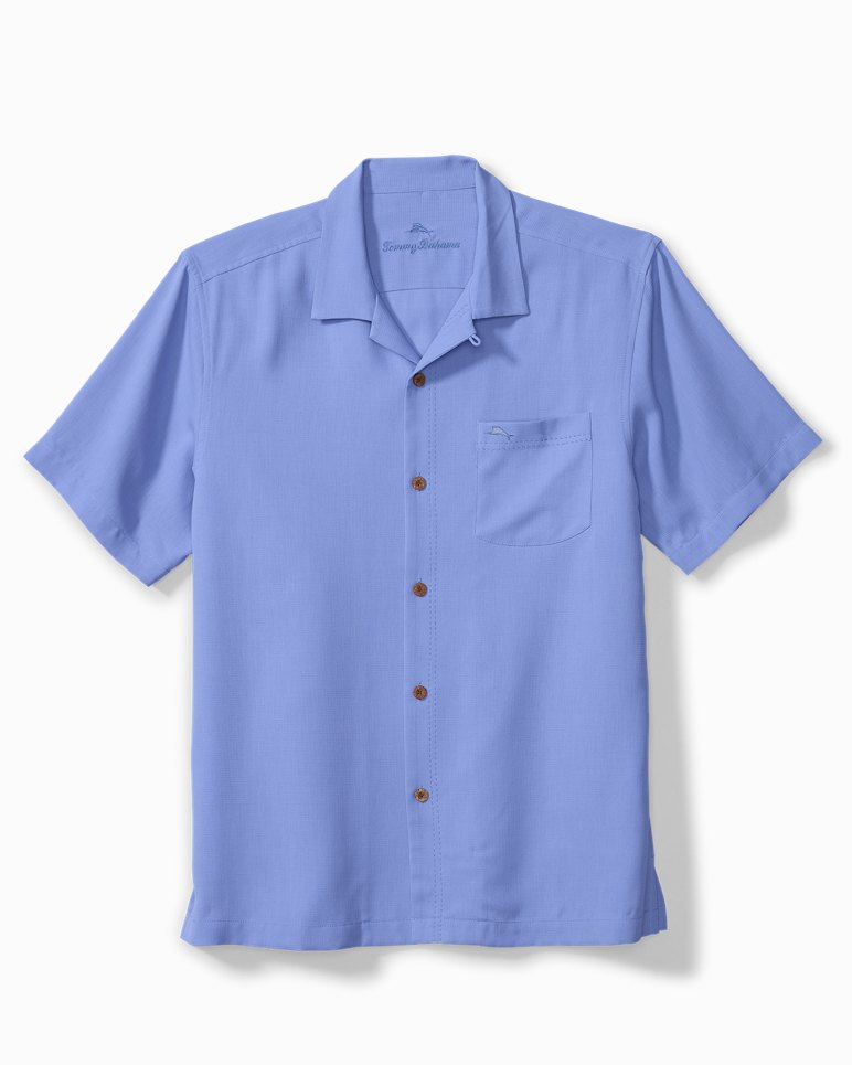 Main Image for Big & Tall Royal Bermuda IslandZone® Camp Shirt
