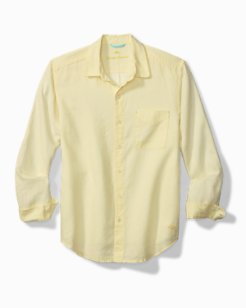 Big & Tall Sea Glass Breezer Linen Shirt