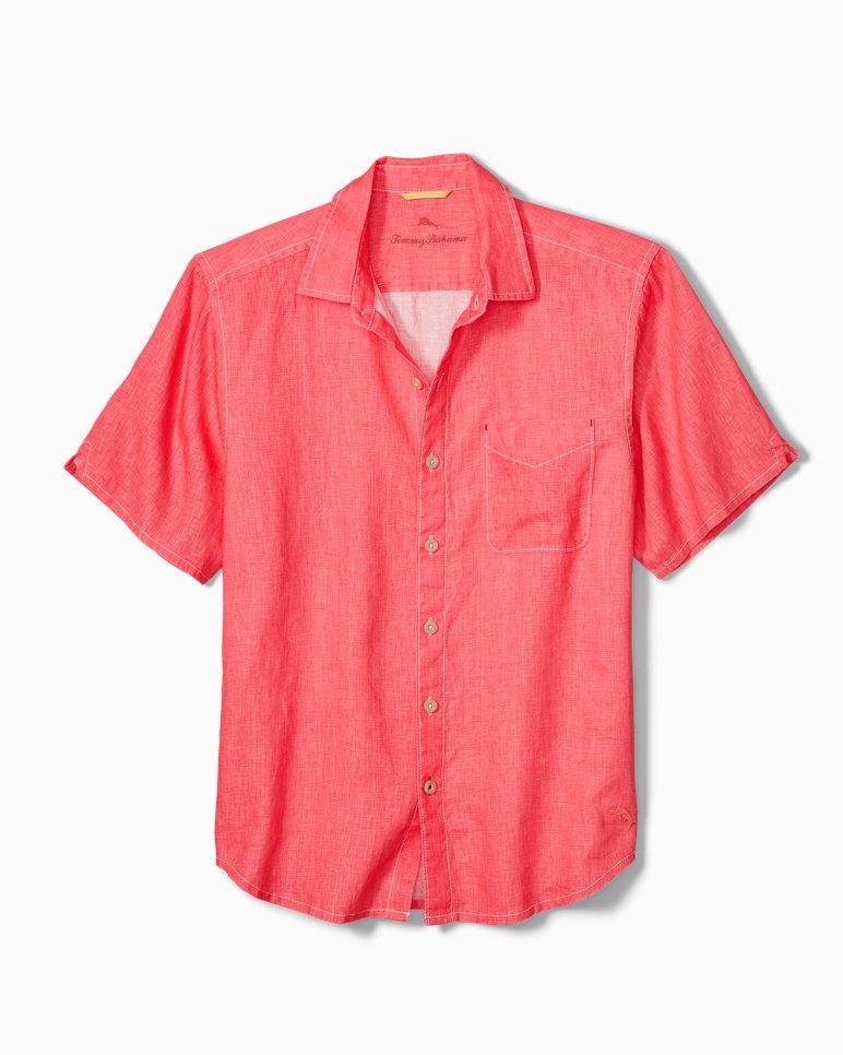 Main Image for Big & Tall Sea Glass Breezer Linen Camp Shirt