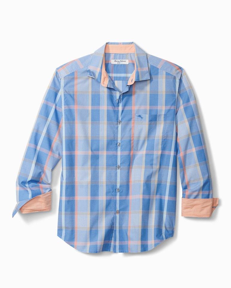 Main Image for Big & Tall Newport Coast Alterra Plaid IslandZone® Shirt