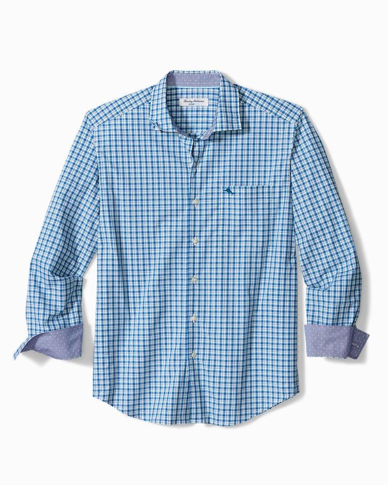 Main Image for Big & Tall Newport Coast Vista Check IslandZone® Shirt