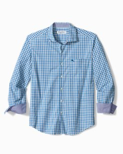Big & Tall Newport Coast Vista Check IslandZone® Shirt
