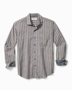 Big & Tall Newport Coast Cimarron Check IslandZone® Shirt