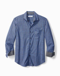 Big & Tall Newport Coast Cimarron Check IslandZone® Shirt