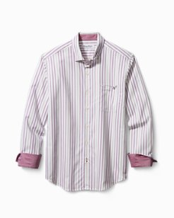 Big & Tall Newport Coast Gent Stripe IslandZone® Shirt