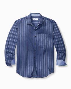 Big & Tall Newport Coast Gent Stripe IslandZone® Shirt