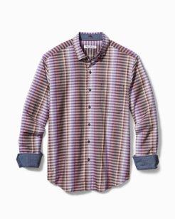 Big & Tall Surf Springs Stripe Stretch Shirt