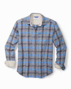 Big & Tall Canyon Beach Plaid Shirt