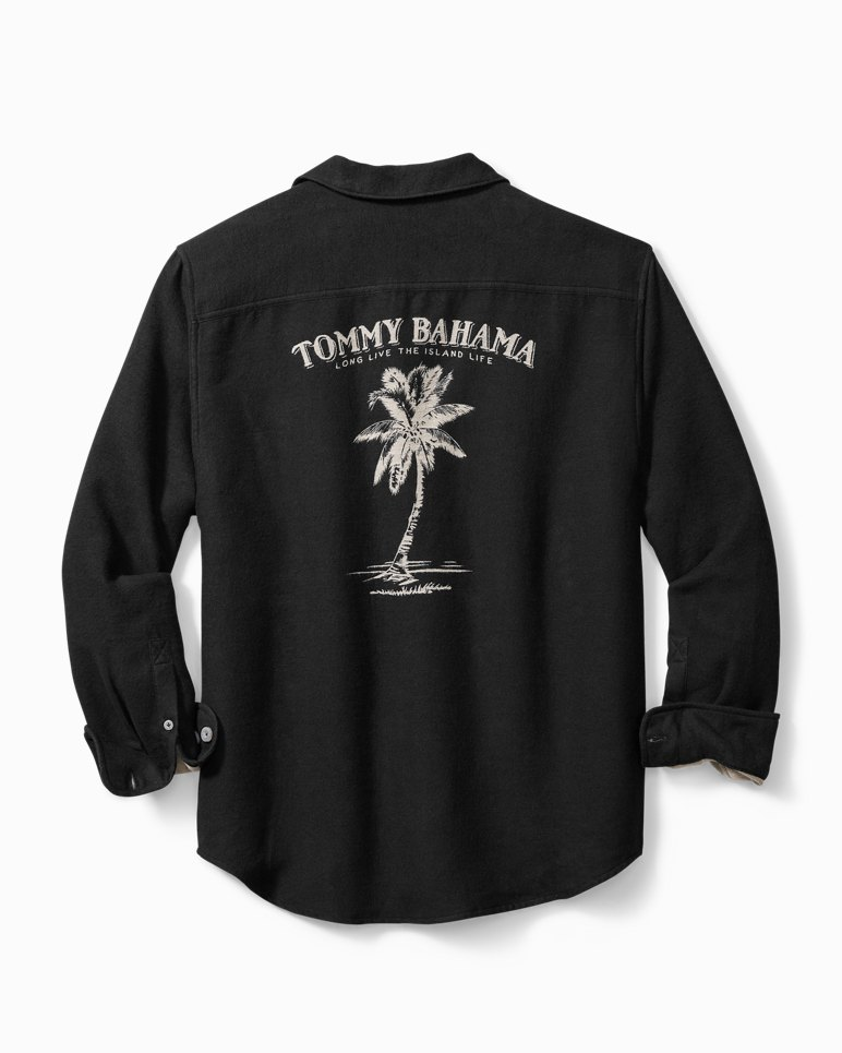 Main Image for Big & Tall Cozy Palms Flannel Shirt