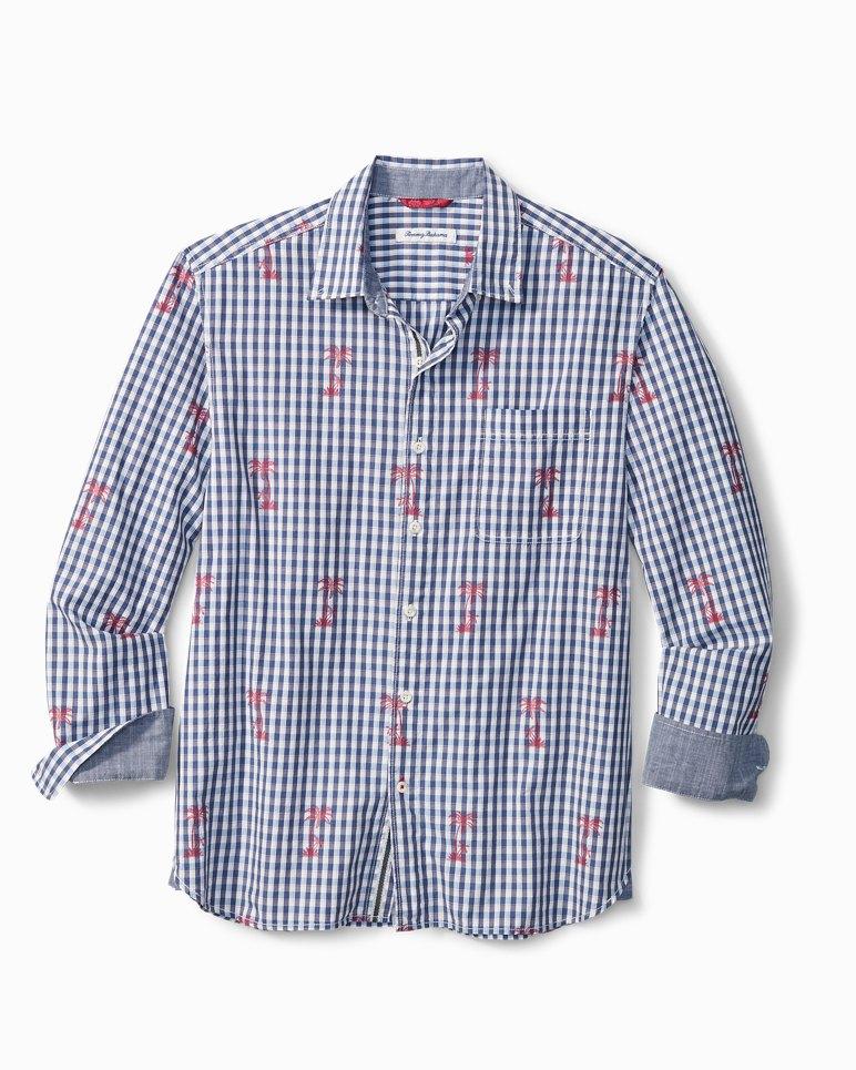Main Image for Big & Tall Palm Gingham Shirt