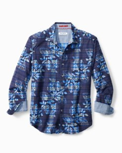 Big & Tall Jingle Bell Rock Plaid Shirt