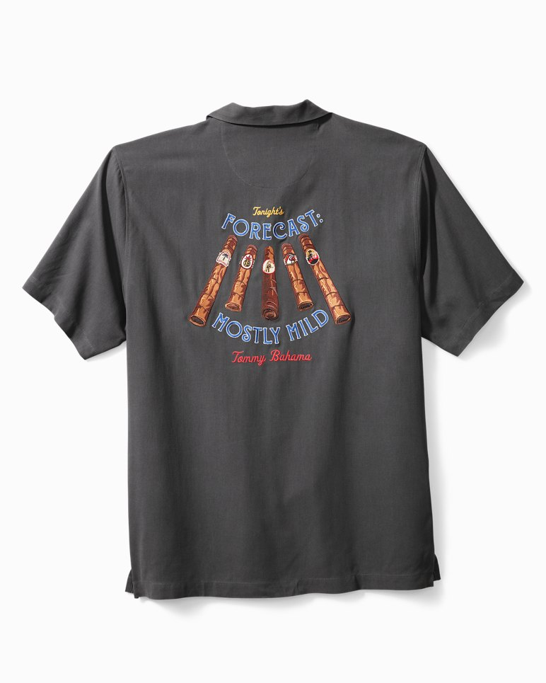 Main Image for Big & Tall Forecast Mostly Mild Camp Shirt