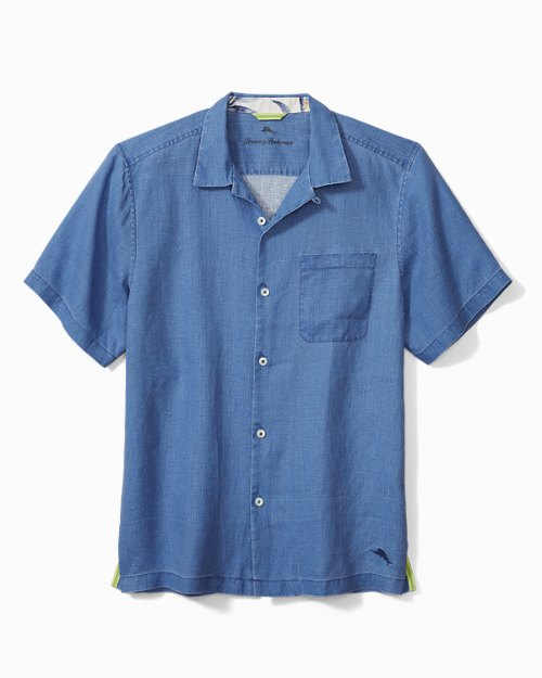 Big & Tall Sea Glass Camp Shirt