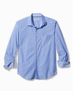 Big & Tall Newport Coast Seas Stripe IslandZone® Shirt