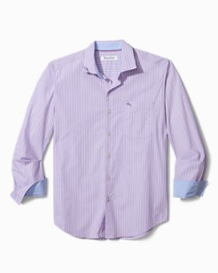 Big & Tall Newport Coast Seas Stripe IslandZone® Shirt