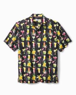 Big & Tall Bartender's Choice Camp Shirt