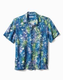 Big & Tall Hazy Hibiscus IslandZone® Camp Shirt