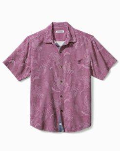 Big & Tall Lahaina Leaves Camp Shirt