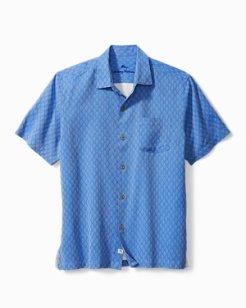 Big & Tall Diamond Cove Camp Shirt