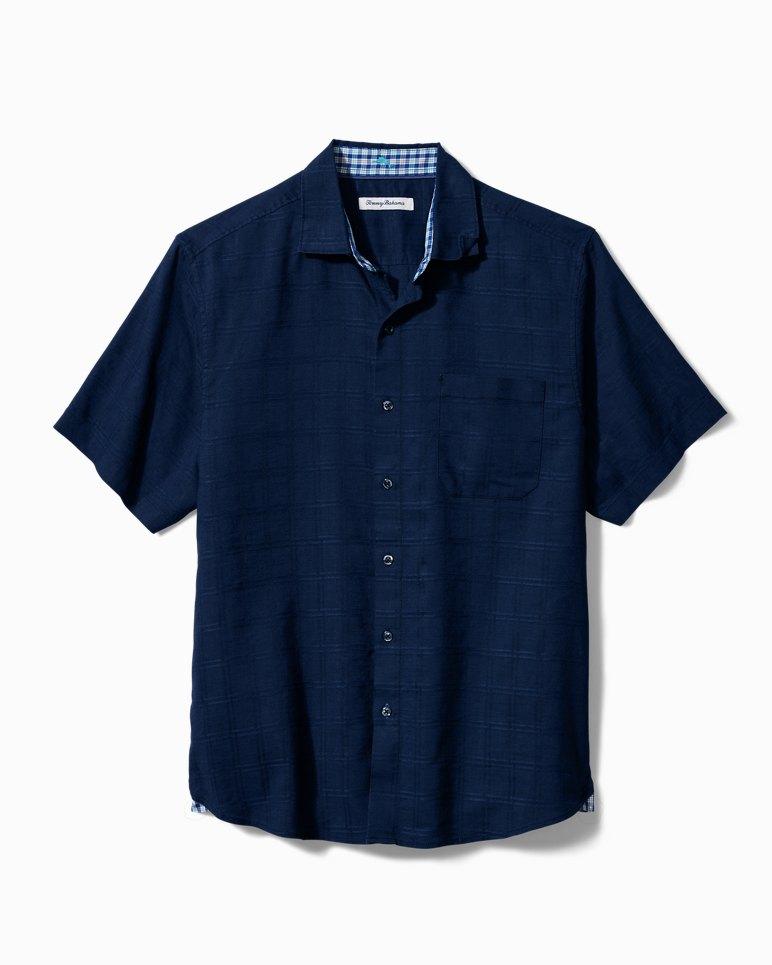 Main Image for Big & Tall Costa Capri Stretch-Linen Camp Shirt