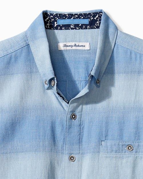 Big & Tall Ocean Fade Camp Shirt