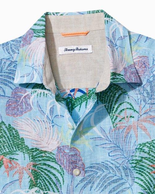 Big  & Tall Tropic Caliente Linen Shirt