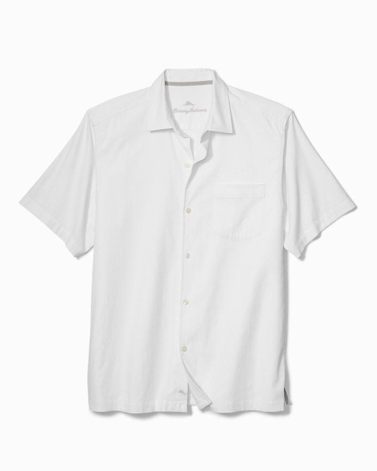 Big Amp Tall Catalina Twill Stretch Camp Shirt