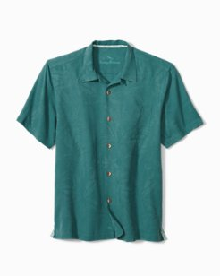 Big & Tall Al Fresco Tropics Camp Shirt